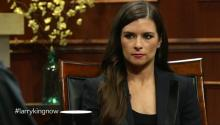 Racer Danica Patrick tells Larry King about being a female racer, GoDaddy commercials, & NASCAR.