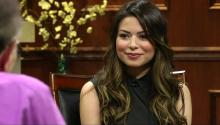 iCarly's Miranda Cosgrove tells Larry King about meeting Michelle Obama, Nickelodeon, & acting with Jack Black