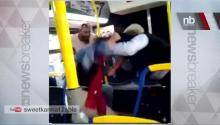 VIRAL VIDEO: Bus Driver Fights High School Girl