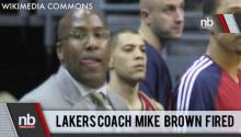 Lakers Coach Fired
