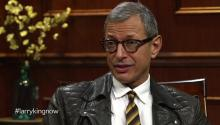 Jeff Goldblum tells Larry King about action movie roles, acting, & wanting to be a dad