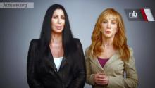 Cher & Kathy Griffin Team Up Against Romney