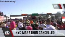NYC Marathon Cancelled