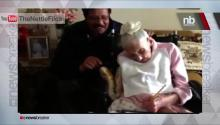 113 yr old Lady Votes for President