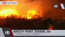 Breezy Point Queens NY Fire - Superstorm Sandy