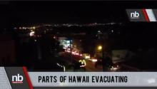 Hawaii Evacuee Talks with Newsbreaker