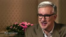 Keith Olbermann talks to Larry King about troublemaker reputation, Mitt Romney, & reveals he was fired