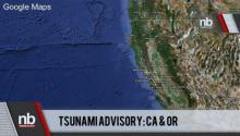 Breaking News: Tsunami Advisory Issued for N California, S Oregon
