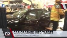 BMW Crashes Through Target