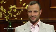 Olympian Oscar Pistorius talks to Larry King about defeat by Alan Oliveira, school pranks, & Michael Phelps