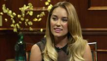Lauren Conrad speaks to Larry King about ever returning to reality TV, her views on plastic surgery and what she thinks of Larry's new look.
