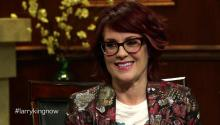 Actress Megan Mullally talks to Larry King about reason for