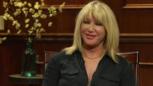 Suzanne Somers talks to Larry King about Joyce Dewiit