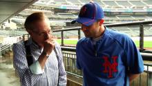 Mets' Player David Wright On the All Star Team