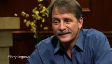 Comedian Jeff Foxworthy talks to Larry King about national debt, Blue Collar Comedy, & fatherhood