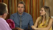Actors Kristen Bell & Dax Shepard talk to Larry King about latest film, Chick-Fil-A gay controversy, & past drug use