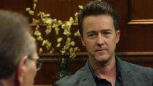 Edward Norton On Eric Byer