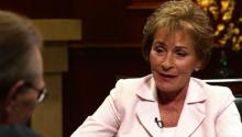 Judge Judy talks to Larry King about working 5 days a month, her first kiss, & biggest regret