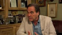 Oliver Stone talks to Larry King about California weed, directing, & volunteering in Vietnam .