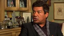 George Lopez talks to Larry King about cancelation of his talk show, Mitt Romney, & Latino vote