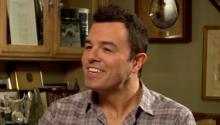 Seth MacFarlane talks to Larry King about Family Guy, Ted, & politics