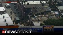 BREAKING: 6 Injured, Including Infant After Explosion, Collapse at Philadelphia Home