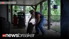 RACCOON ROCK: Hillbilly's Dance with Pet Raccoon Goes Viral