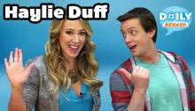 Guest Haylie Duff Talks Twitter and Food