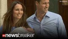 RAW: Will & Kate Present Royal Baby to the World