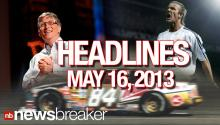 NewsBreaker Headlines May 16, 2013