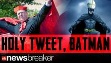 The Vatican Accidently Tweets About The Caped Crusader