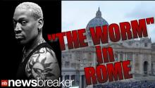 Dennis Rodman Appears At The Vatican