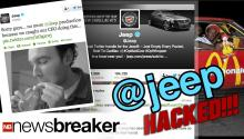Jeep's Twitter Account Hacked; Vandalized
