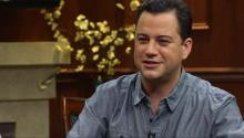 Jimmy Kimmel Shares How He First Met Larry