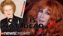 Cher Is (NOT) Dead!