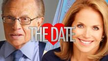 Larry King Fires Back at Katie Couric About Their Date