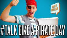 How to Talk Like a Pirate and Get Free Food!