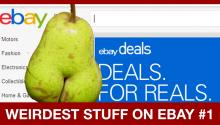 All Hail The Butt-Pear! Here's the Weirdest Stuff on Ebay!