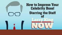 How to Impress Your Celebrity Boss