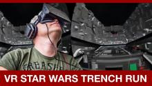 Oculus Rift Star Wars Death Star Trench Run!