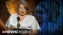 "SHORTEST SPEECH: Merritt Wever Wins Supporting Actress, Says She's ""Gotta Go"""
