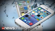 WATERPROOF?: iPhone Users Fooled by Fake iOS 7 Advertisement