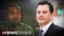 KANYE vs KIMMEL: Late Night Star's Jokes Prompt Racy Twitter Tirade By Rapper