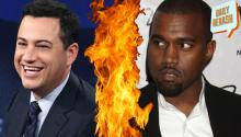 Kanye West attacks Jimmy Kimmel on Twitter