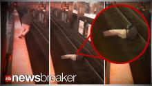 CAUGHT ON TAPE: Doctor Saved From Certain Death After Falling onto Subway Tracks