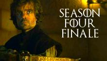 The Game of Thrones Season 4 Finale! SPOILER ALERT
