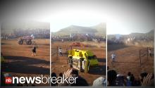 MONSTER DISASTER: 8 Killed After Out of Control Monster Truck Launches into Crowd