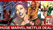 HUGE NEWS: Marvel Sells 4 Superhero Shows to Netflix!
