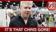 Celebrities Poop! Chris Gore at Comikaze