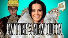 Most Followed On Twitter, Katy Perry Passes Bieber